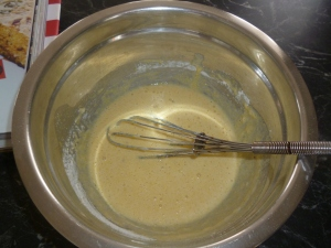 Cornbread batter