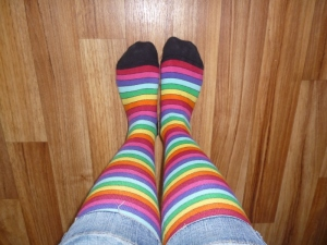 Happy socks...
