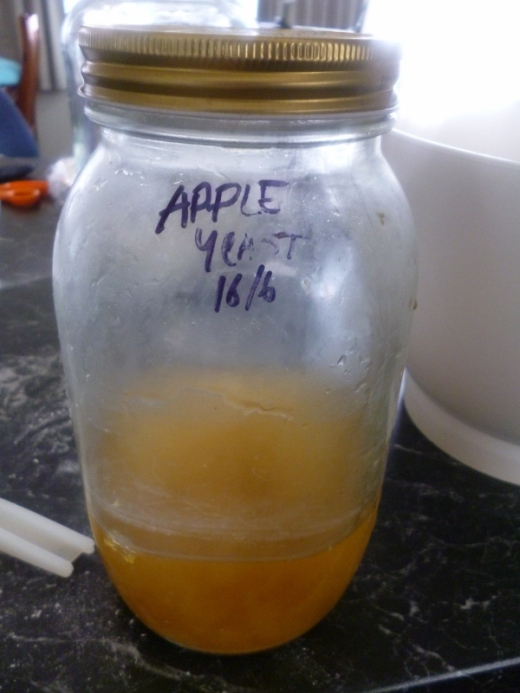 Apple yeast....