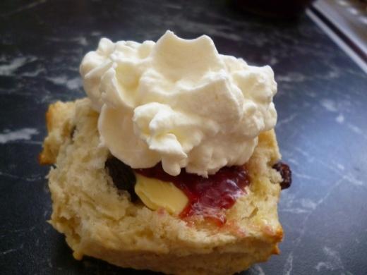 a bit of cream!