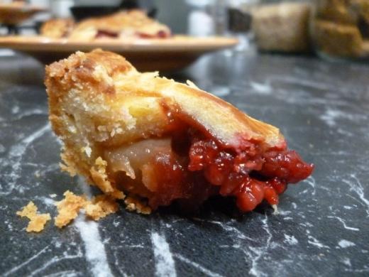 Mmmm crumbly crust...