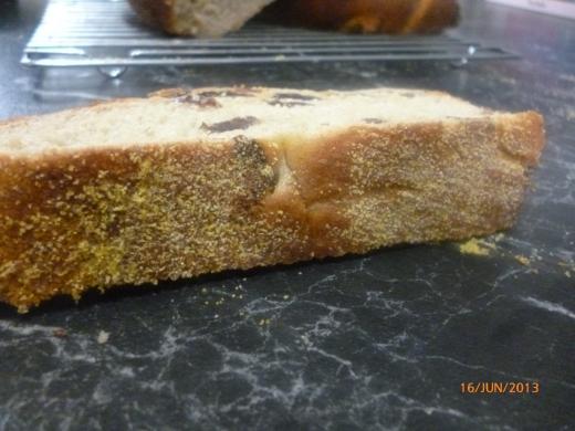 lovely polenta bottom..