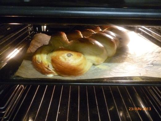 Peeking half way baked:)