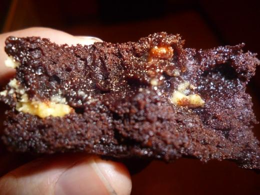 Greedyboy brownie..